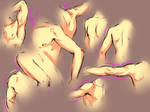 .Arm Study. by moni158