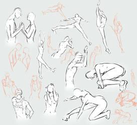 free poses 3 by moni158
