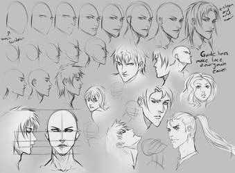 Face Angles by moni158