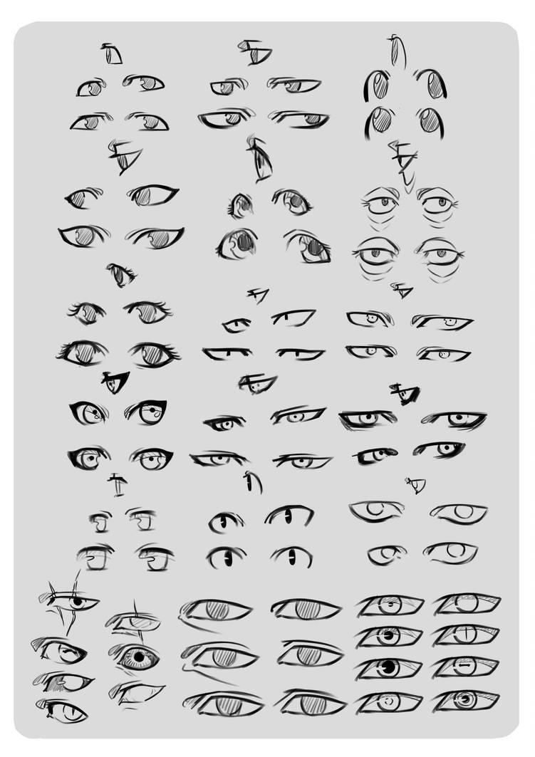Eye Reference. by moni158