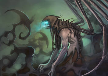 Angel of Death by moni158