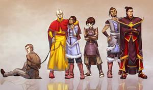 Avatar: Grown Up Gaang by moni158
