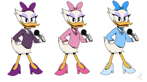 Daisy Duck - Ducktales 2017 by EMositeCC