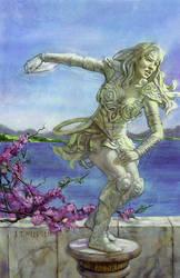 Xena Statue by TereseNielsen