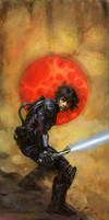 Luke Skywalker by TereseNielsen