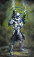Star Wars Commander Rex by TereseNielsen