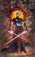 Star Wars: Asajj Ventress by TereseNielsen