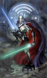 Star Wars: General Grievous by TereseNielsen