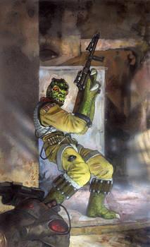 Star Wars: Bossk by TereseNielsen
