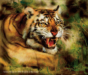 Stalking Tiger by TereseNielsen