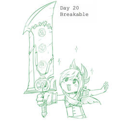 Day 20 Breakable Riven by BakaDuck