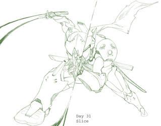 Day 31 Slice Genji by BakaDuck