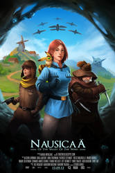 Nausicaa Fan Poster by MihaiRadu