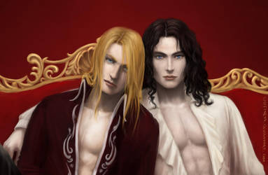 Jean-Claude and Asher close-up by Spiffiness