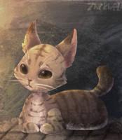 Kitty by cerberus-monk