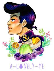 JoJo: Josuke Higashikata by Lisk-Art