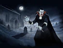 Vampire by JonHodgson