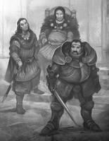 Dragon Warriors Nobles by JonHodgson
