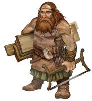 Carpenter Dwarf by JonHodgson