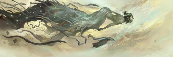Eel Witch by JonHodgson