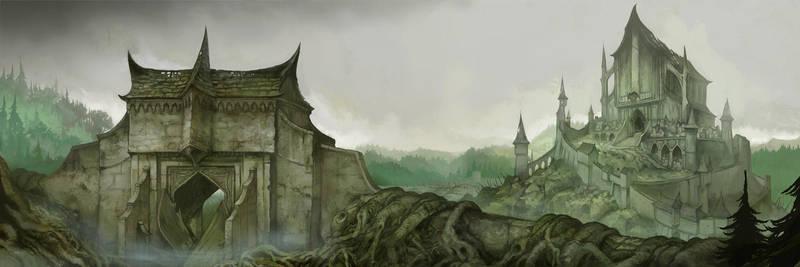 Dol Guldur by JonHodgson