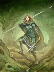 Elf Warden by JonHodgson