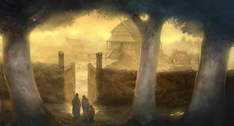 Beorn's Hall by JonHodgson