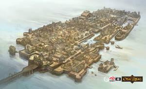 Lake-town Map by JonHodgson