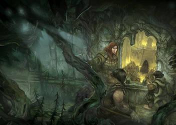 The Darkening of Mirkwood by JonHodgson