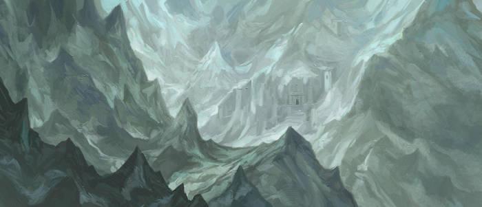 The Grey Mountains by JonHodgson