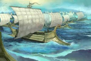 1000 Ships by JonHodgson