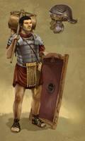 Roman Soldier by JonHodgson