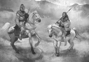 Horse Comparison by JonHodgson