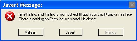 Javert's Error by ThisBirdTooHasFlown
