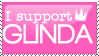 I Support Glinda by Tiggular