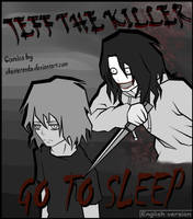 Cover page (Jeff the killer manga) by ShesterenkA