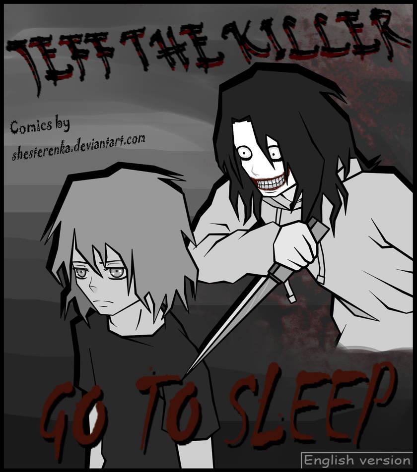 Cover Page Jeff The Killer Manga By Shesterenka On Deviantart