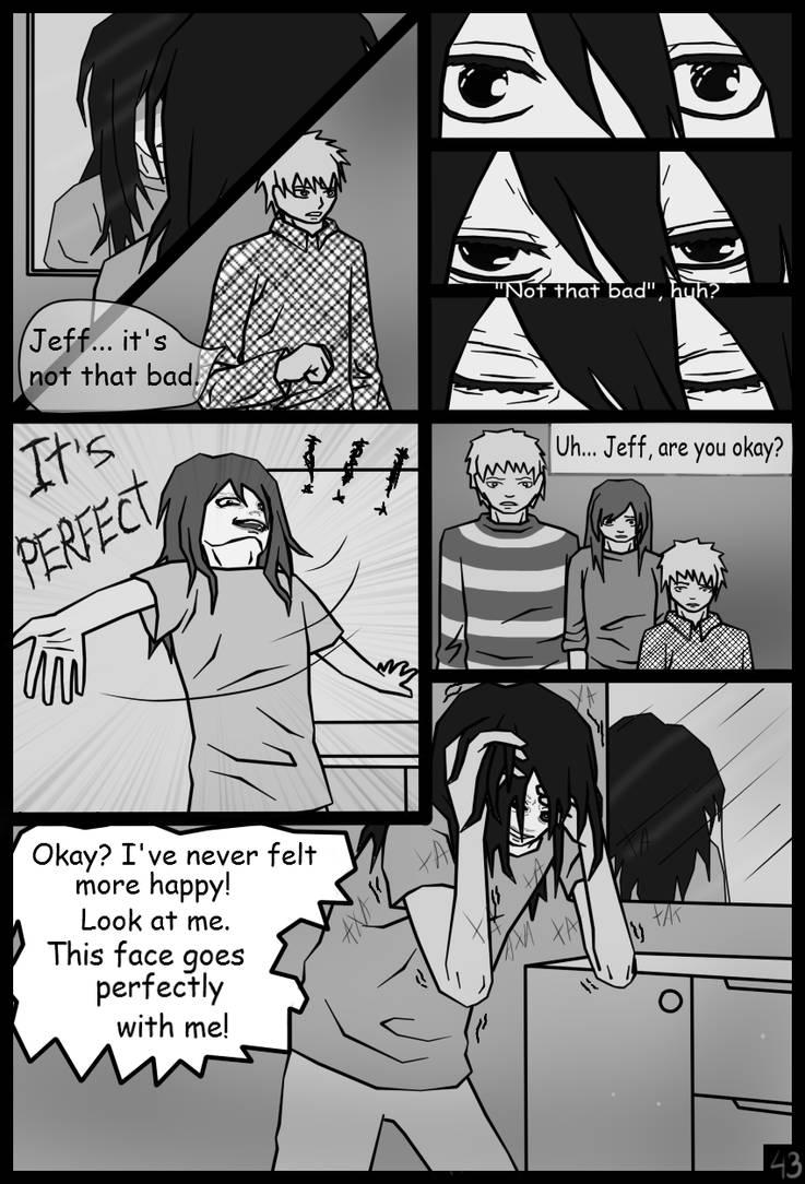 Page43 Jeff The Killer Manga By Shesterenka On Deviantart