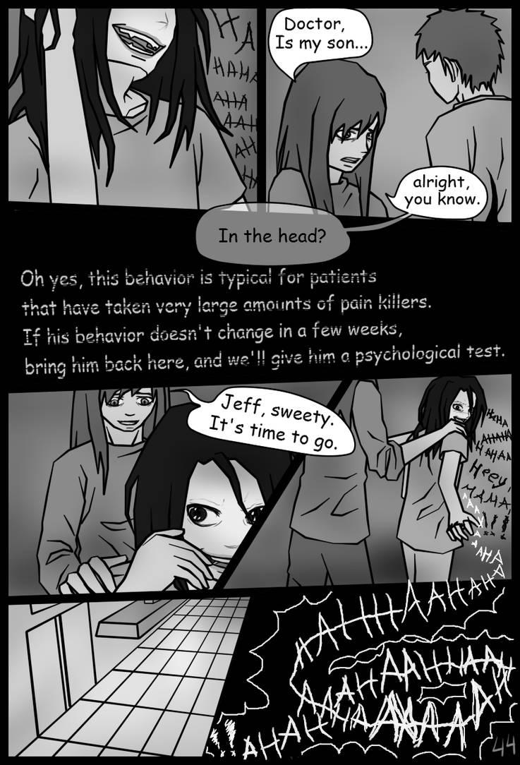 Page44 Jeff The Killer Manga By Shesterenka On Deviantart