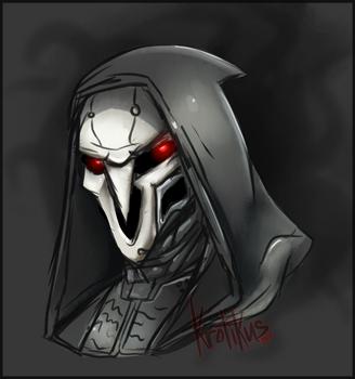 Reaper Sketch by Krotikus