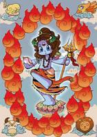 Shiva The World by Mahoro1046