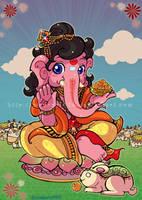 Ganesha by Mahoro1046