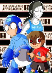 Super Smash Bros Newcomers! by Kibaro-Kun