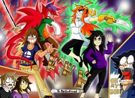 Kibaro and Rey's Bizarre Adventure by Kibaro-Kun