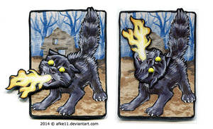 Firebreathing Cat by afke11