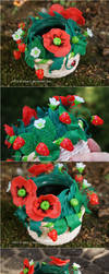 Poppies and Strawberries by afke11