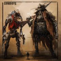 Cowboys by DONGJUN1987