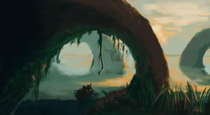 Fantasy Landscape by Jstiller30