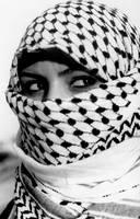 Lady Palestine by ayooya