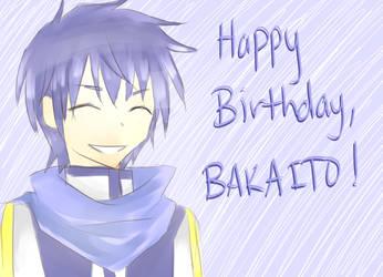 Happy Birthday BAKAITO! by iLuffMehh